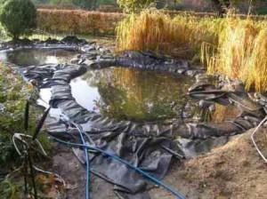 строительство искусственного водоема