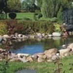 садовый искусственный пруд