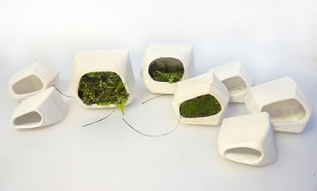 Глиняные модули для фасадной  системы