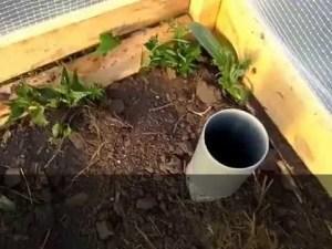 Сохранение дневного тепла при помощи полых труб
