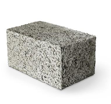 стандартный стеновой блок из арболита