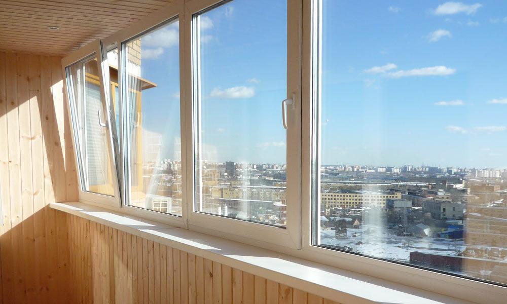 Качественное остекление балконов способствует комфортной обстановке