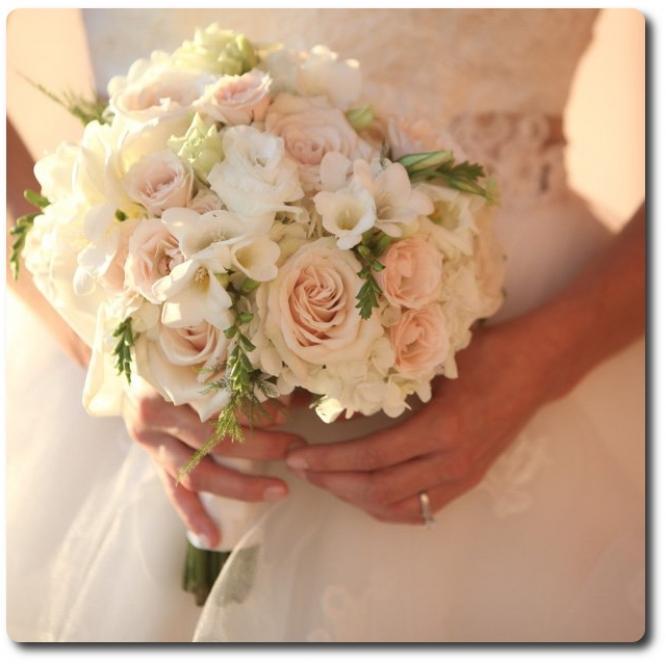 Выбор свадебного букета: нюансы