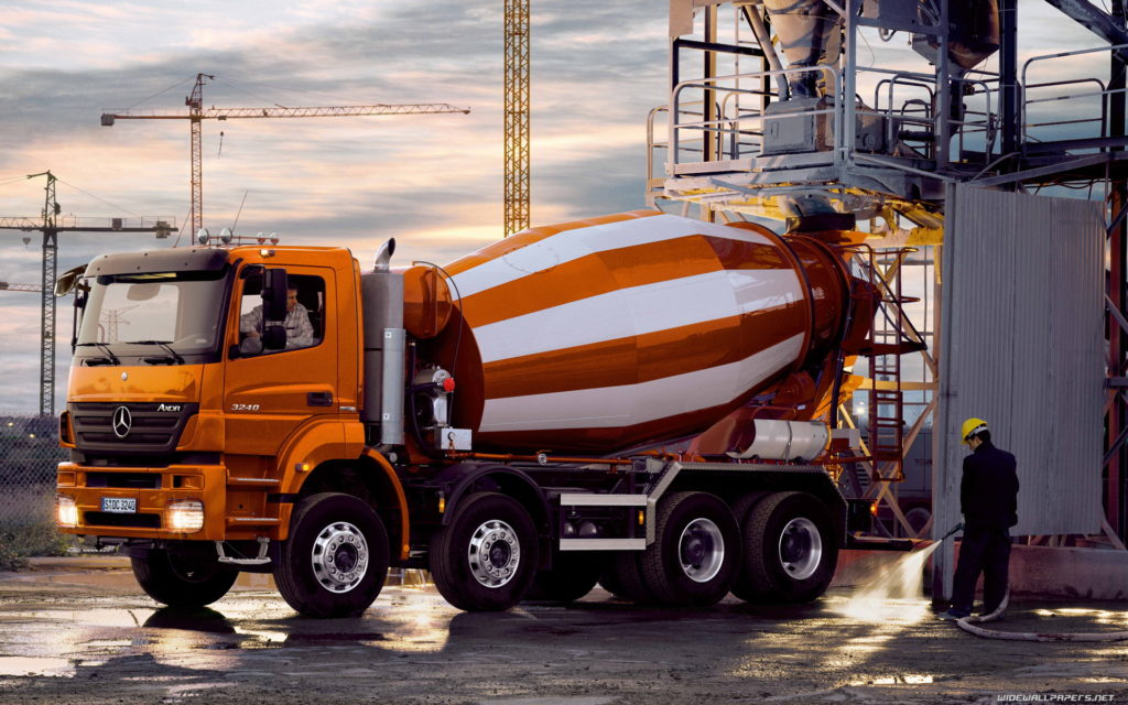 Услуги по доставке бетона
