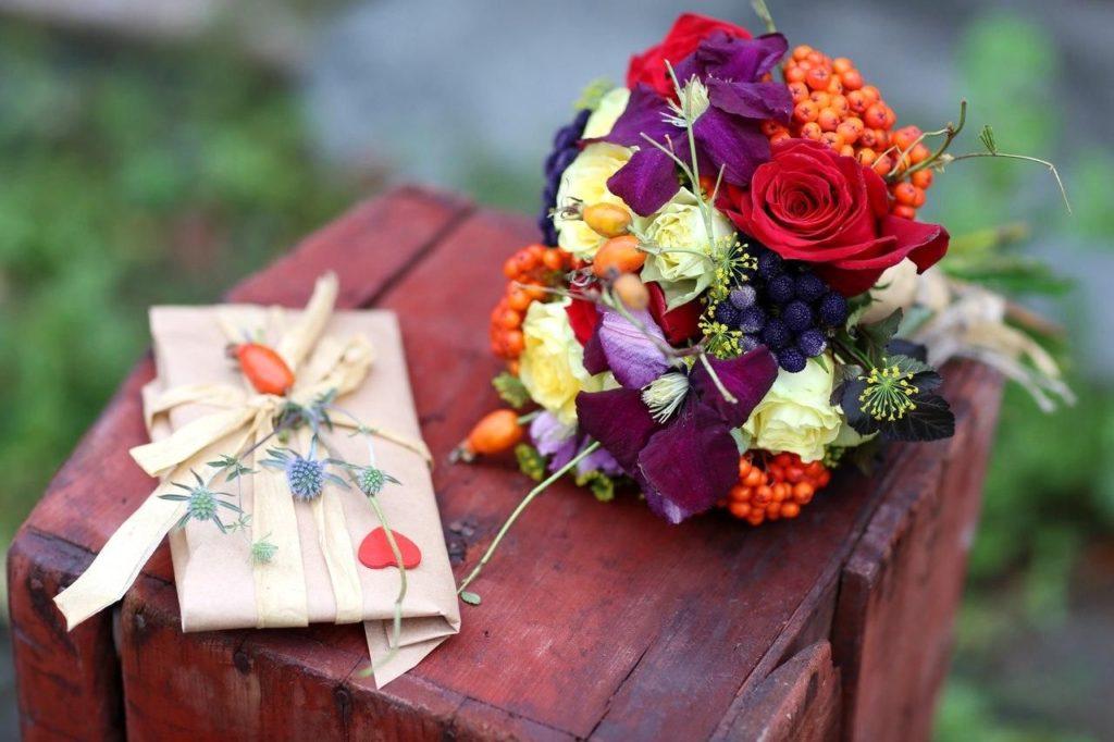Выбор цветов на свадьбу